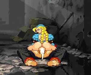 MUGEN mina and cammy -..